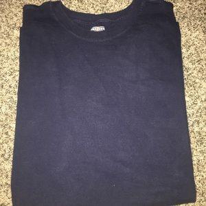 Navy Blue T-shirt - XL